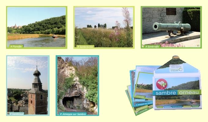 Nouvelles cartes postales en vente au S.I.