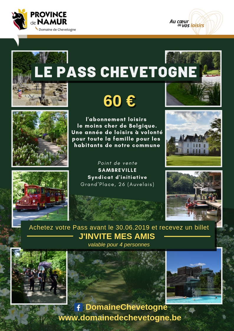 Sambreville - Visuel pass Chevetogne 2019 A4