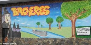 Peinture murale au croisement de la rue du Foyer et de la rue Bois des Noix