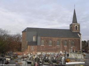L'église Immaculée Conception de Moignelée date de 1862