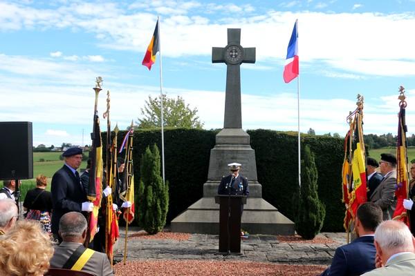 22/08/2016 - Monument du Lieutenant Lemercier à Arsimont