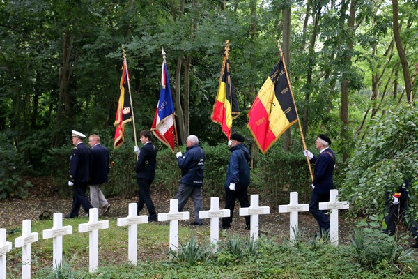 21/08/2016 - Cimetière Militaire Français d'Auvelais