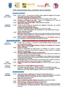 Le programme complet en PDF