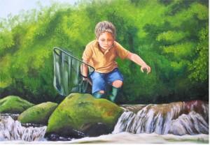 eau vive et vert bois